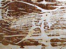 Resztki papierowy kleidło jako tekstura II obraz stock