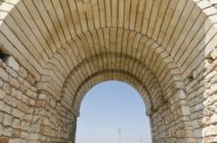 Resztki średniowieczny forteca Obraz Stock
