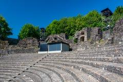 Resztki Romański teatr w Lion zdjęcia stock