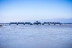 Resztki stary poręcza most Obraz Royalty Free