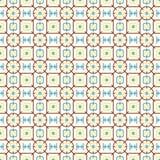 Retângulo do canto arredondado de Brown e flor e linha teste padrão Fotos de Stock Royalty Free