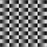 Retângulos com grayscale, suficiência contrasty do inclinação Pancadinha sem emenda ilustração do vetor