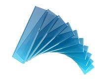 Retângulos de vidro Foto de Stock