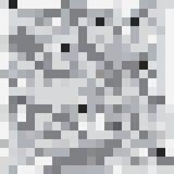Retângulos do Grayscale e teste padrão sem emenda dos quadrados Fotos de Stock Royalty Free