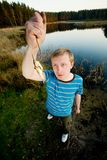 Retén fino de pescados fotos de archivo