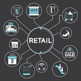 retail royalty ilustracja