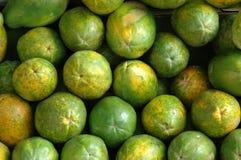Retail Background of Papaya Fruits. Retail Background of Fresh Papaya Fruits at a Market Stall Royalty Free Stock Image