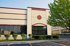 Retail Building stock image