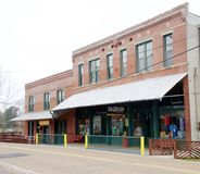 A Retail Business in the Historic Train Depot, Arlington, TN Royalty Free Stock Photography