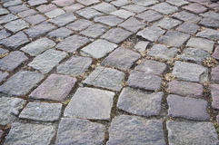 Retail of cobbles with design Stock Photos