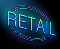 Retail concept. Stock Images