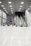 Retail-entertainment complex Crocus City Hall escalators Royalty Free Stock Photos