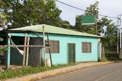 Retail market brig bay corn island nicaragua Royalty Free Stock Photos