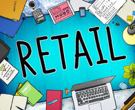 Retail Market Price Consumer Buying Concept Royalty Free Stock Images
