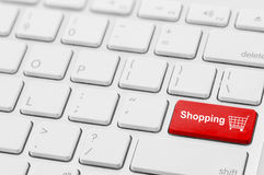 retail shopping cart icon button Stock Photos