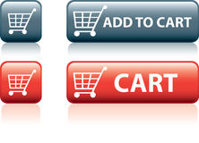 Retail shopping icon Royalty Free Stock Images