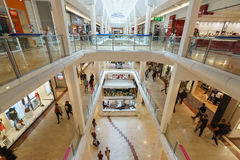 Retail shopping mall Royalty Free Stock Photography