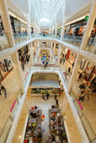 Retail shopping mall Stock Photography