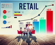 Retail Shopping Purchasing Capitalism Customer Concept Royalty Free Stock Photo