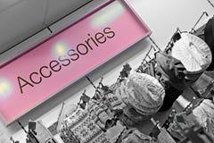 Retail shopping sign Royalty Free Stock Photos