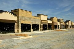 Retail Space. New Retail Space under Construction stock images