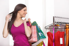 Retail store. Stock Photo