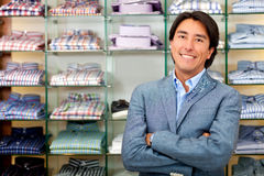 Retail store manager Royalty Free Stock Photos