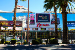 Retail Stores at the Riviera Casino and Hotel, Las Vegas, NV. Stock Image