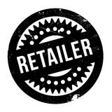 Retailer rubber stamp Royalty Free Stock Images