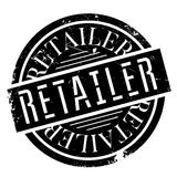 Retailer rubber stamp Stock Image