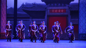 Retainer of a big family-The first act of dance drama-Shawan events of the past. Guangdong Shawan Town is the hometown of ballet music, the past focuses on the Royalty Free Stock Images