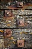 Retaining bolts Stock Image