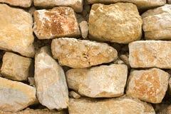 Retaining Rock Wall Royalty Free Stock Photo