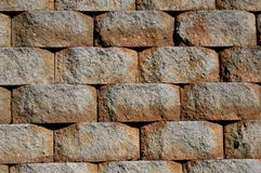 Retaining Wall Stock Image