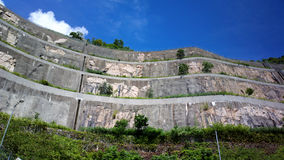 Retaining wall Stock Photos