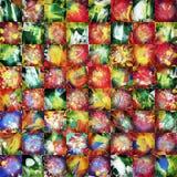 Retalhos abstratos da pintura Imagem de Stock Royalty Free