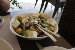 Retan salade Ñ  Royalty-vrije Stock Fotografie