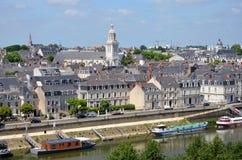 retar upp staden france Royaltyfri Foto