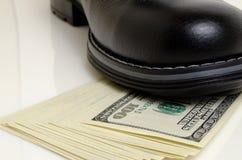 Retard ou arrêt des paiements Images stock