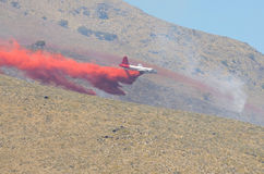 Retardant Plane Royalty Free Stock Images