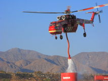 Retardant Refill, Sikorsky S-640 Royalty Free Stock Image