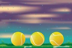 Retardo de la lluvia libre illustration