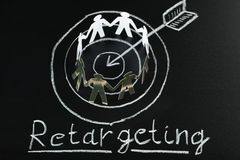 Retargeting concept Stock Photo