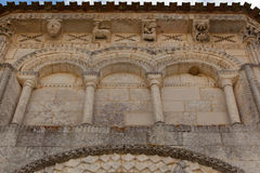 Retaud church abse detail Royalty Free Stock Image