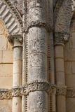 Retaud church detail Stock Images