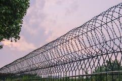 Rete antifurto sulla parete Fotografia Stock Libera da Diritti
