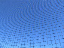 Rete blu Fotografie Stock