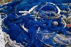 Rete blu Immagini Stock