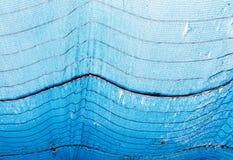 Rete blu di ombreggiatura Fotografie Stock