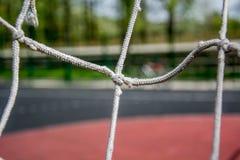 Rete con beckground blured Fotografie Stock Libere da Diritti
